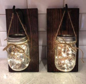 Rustic Wall Sconses